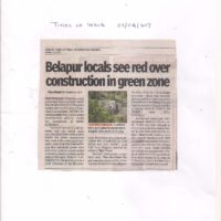 TOI-Belapur locals see red over construction in green zone23