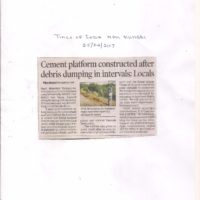 TOI NM-Cement platform constructed after debris dumping in intervals25