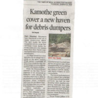 TOI, NM-Kamothe green cover a new haven for debris dumpers-22.03.18